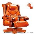 Marrom de luxo cadeira de massagem, alta- fim de couro cadeira executiva( foh- a01)