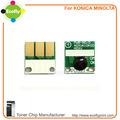 nuevos productos calientes para 2015 para konica minolta c224 tambor de chips de reajuste