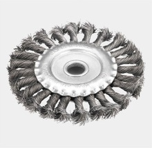 Twisted Knot Wire Wheel brush
