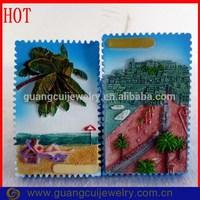 ODM/OEM custom postage stamp cute fridge magnets
