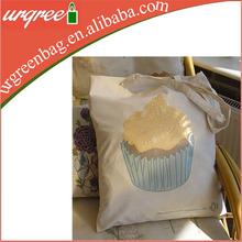 Eco Plain Cotton Canvas Pencil Bag