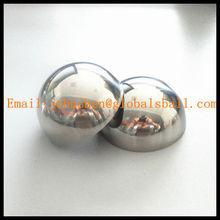 201 304 stainless hemisphere half hollow steel ball
