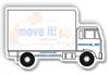 Custom cheap printed logo Truck Shaped Die Cut Notepad/ Car shaped memo pad/ self-adhesive notes
