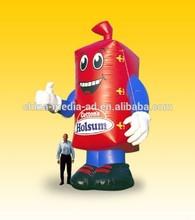 inflatable cartoon custom, custom inflatable red box, custom inflatable model