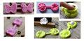 borboleta decorar o bolo molde de silicone bolo fondant molde projeto da flor