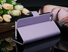 Fashion Silk Pattern Stand Leather Case Cover Fit for Apple iPhone 5 5S