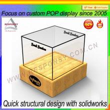 Hot new products for 2014 POP custom acrylic house shaped donation box