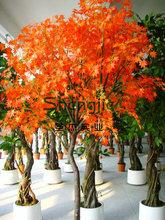 ขายที่มีคุณภาพสูงที่มีคุณภาพสูงต้นเมเปิ้ลเทียม, เทียมตกแต่งสวนต้นเมเปิ้ลสีแดงของ