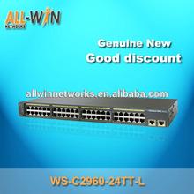 1 year warranty catalyst WS-C2960-24TT-L Fast Ethernet 24 ports switch
