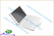 HOT Bluetooth keyboard cover case with stand hold leather case For Apple ipad mini