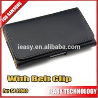 belt clip holster case for samsung galaxy s4 i9500 new Luxury Wallet Leather Belt Clip For Samsung Galaxy S4 i9500