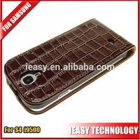 case for samsung galaxy s4 i9500 i9502 i9505 Hot Alligator PU Leather Flip Cover Case for Samsung Galaxy S4 S IV i9500