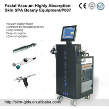 facial vacuum highly absorption skin spa beauty machine ,SG-P007