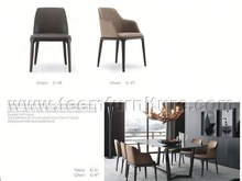 2014 hot sale dining room furniture set water based wood paint C48