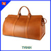 Leather Travel Bag men Duffel bag cow leather traveling bag