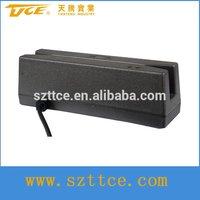 Modern security magnetic card reader strips