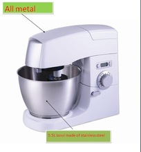 5.5L top chef stand mixer/professional stand mixer