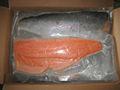Congelado salmão parcela