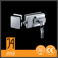 Good Price with high security office glass door clamp fitting lock patch fitting Manufacturer from China