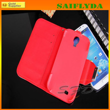 2014 New Arrival Leather Wallet Folio Stand Flip Cover Case for Samsung Galaxy s5 i9600 with Credit Card case
