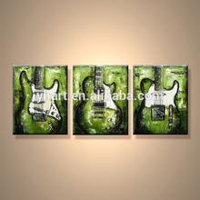 Popular Handmade Modern Musical Instrument Canvas Art