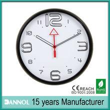 12inch plastic decorative wall unique clock hands