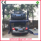 double level auto car park lot system for home