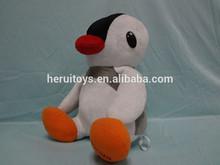 lovely stuffed plush animal penguin for decoration