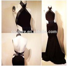 2014 Michael Costello elegant best real made evening dress TS072 celebrity dress wholesale