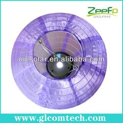Holidy solar led chinese lantern light, festival LED light