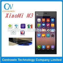Instock! xiaomi mi 3 phone Qualcomm 800 CPU 2.3GHz Quad Core Android mobile phone 5 Inch