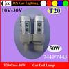 New Design T20 7440 7443 T25 3156 3157 10-30V 900LM Cree 50W led truck lights