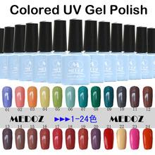 2014 HOT nail art Colored UV Gel Polish,15ml/1KG soak off/ON-Step soack off color uv gels,120 fashion colors