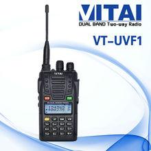 Quanzhou VT-UVF1 VHF&UHF High Performance security guard equipment walkie talkie