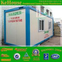 security hut & prefab container hut with EPS sandwich tile