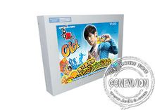 2014 LCD digital signage acrylic front digital signage player advertisement marketing