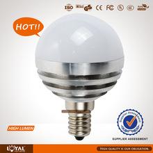 high power dome 4w led bulb light e27