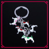 Fashion New Cheap Eco-Friednly 3D Dogs Custom Soft Animal Keyring Animal Keychain