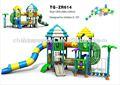 2014 play land projeto do parque de diversões slide plástico pirata prazer parque para venda ao ar livre equipamentos de playground equipamentos de ginástica