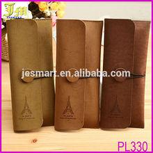 Hot 2014 Vintage Travel Tower Pattern Cosmetic Makeup Pencil Bag Pouch Purse Case Color Random
