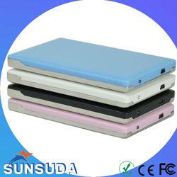Super Slim USB 2.0 2.5 SATA External Hard Disk Case/HDD Case For Hard Disk Drive 1tb