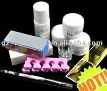 Acrylic Powder Liquid Brushes Nail Art Full Kit Set HN019