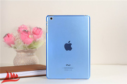 Transparent hard PC case for ipad mini Crystal Candy color back cover