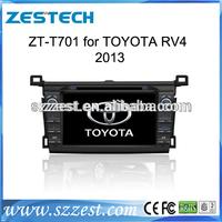 ZESTECH DVD wholesales 2 Din Touch screen Car Dvd player for toyota rav4 2013 car dvd player gps radio audio navigation