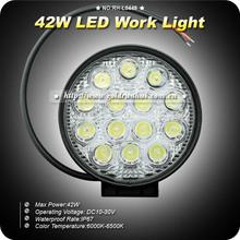 GoldRunhui RH-L0449 LED Work Light 42W Spot/Flood Waterproof Driving Work Light