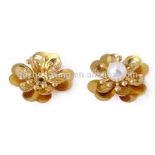 Flower Pearl jewelry accessory pendant /earrings