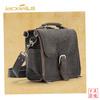 GF-Z063 Vintage Grey Genuine Leather Messenger Bag Handbag