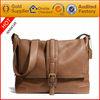 China alibaba wholesale factory high quality korean fashion genuine italian leather mens sling bag