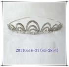 2014 New style nickle free crystal rhinestone fashion bridal headband