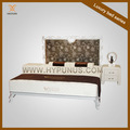 Alta- série cama feita de tubo de metal